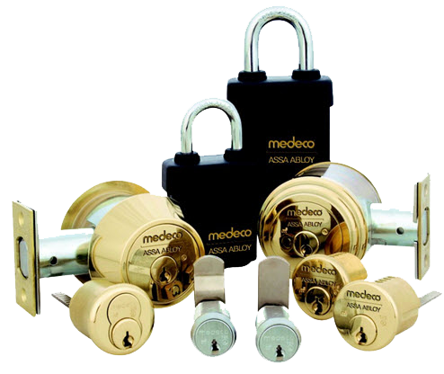 Multiple Mechanical Medeco Locks
