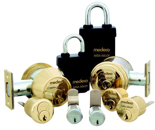 Multiple Mechanical Medeco Locks