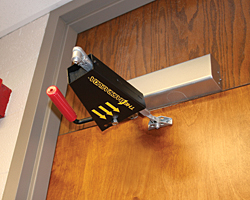 Door Closer Barricade Device