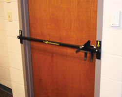 Out Swing Door Barricade Device