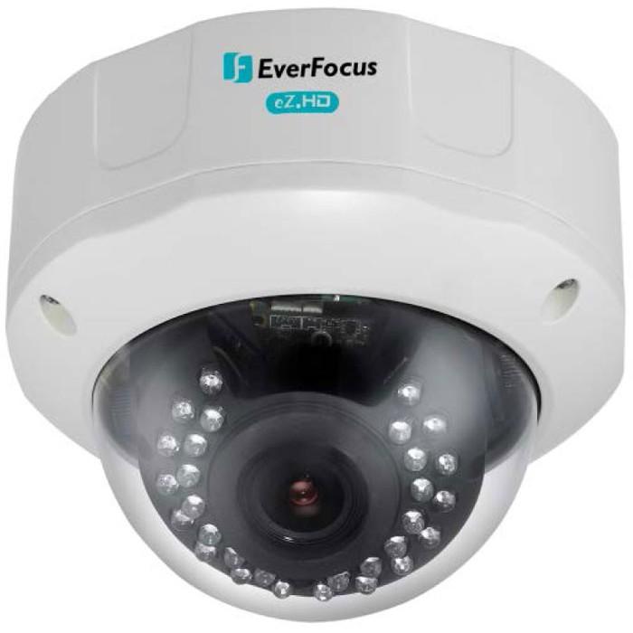 An Everfocus Vandal Dome Camera.