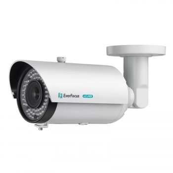 An Everfocus bullet camera.