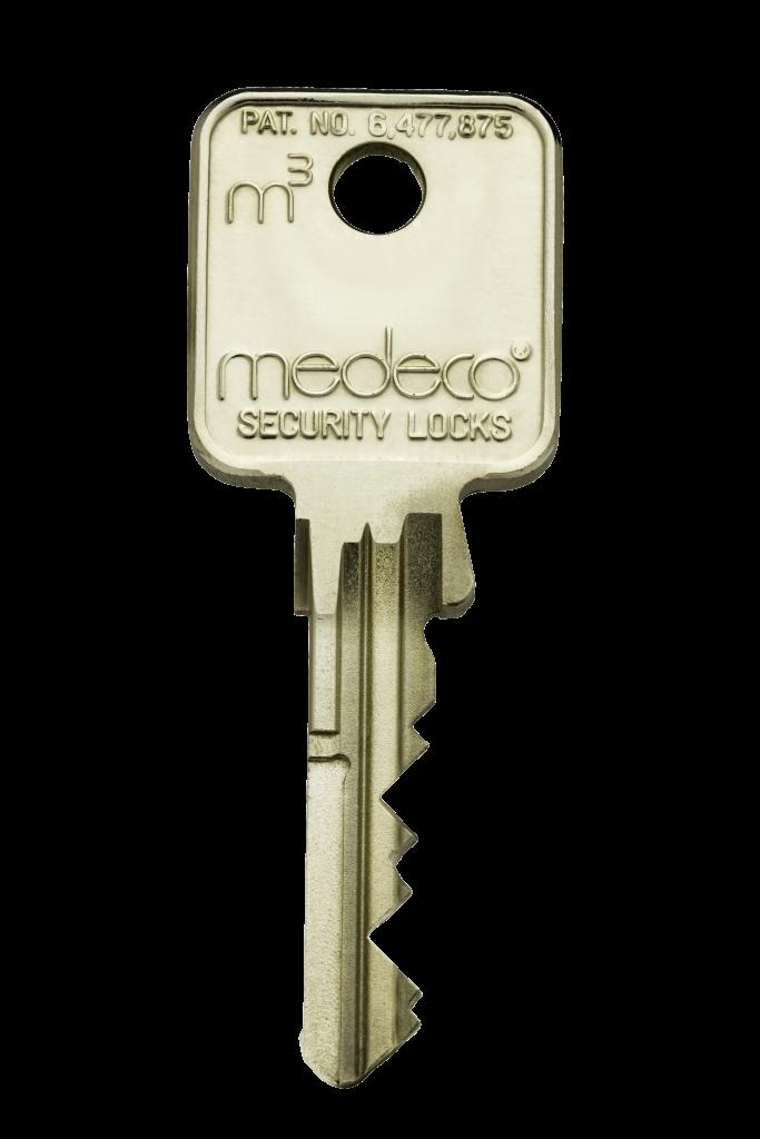 A Medeco key