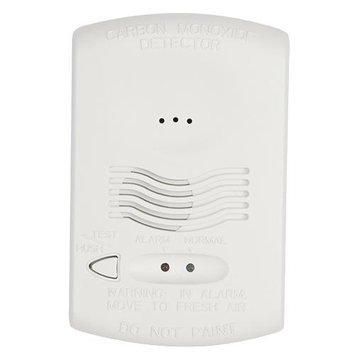 A System Sensor carbon monoxide detector.