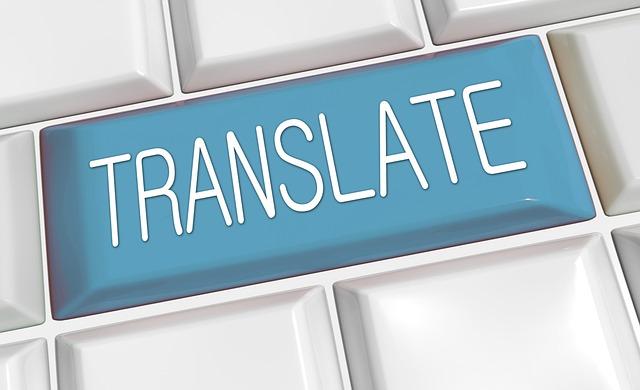 "A keyboard button reading ""Translate"""